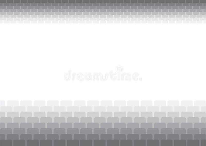 抽象background2灰色 皇族释放例证