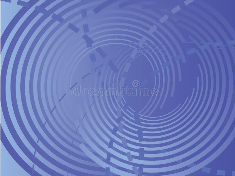 抽象backround蓝色向量 免版税库存照片