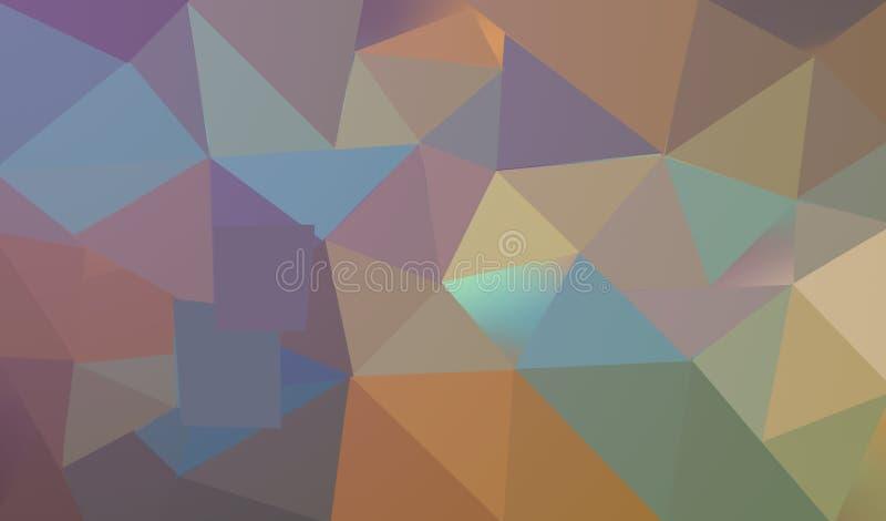 抽象bokeh背景,蓝色和黄色圈子,明亮的颜色 皇族释放例证