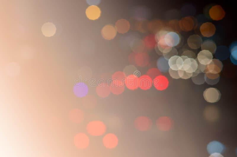 抽象bokhe背景混合颜色样式 库存图片