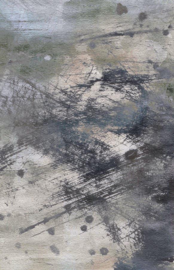 抽象grunge水彩纹理 免版税图库摄影