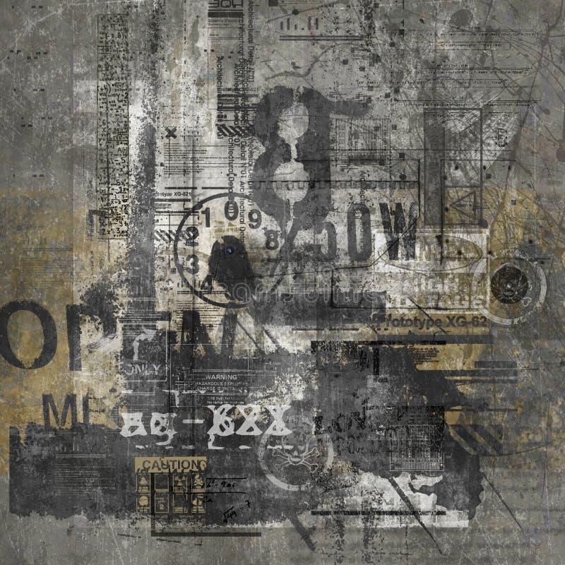 抽象grunge 库存图片