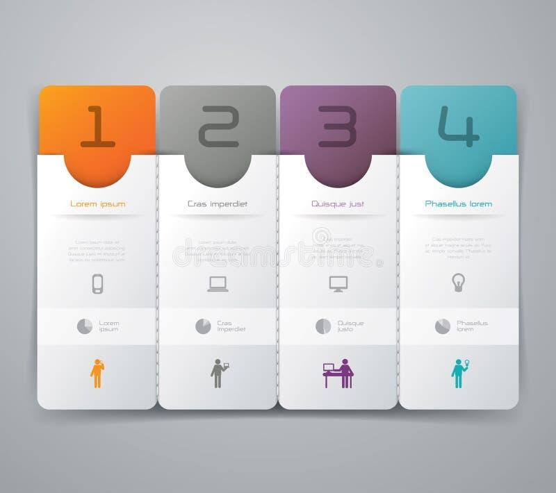 抽象infographics模板设计