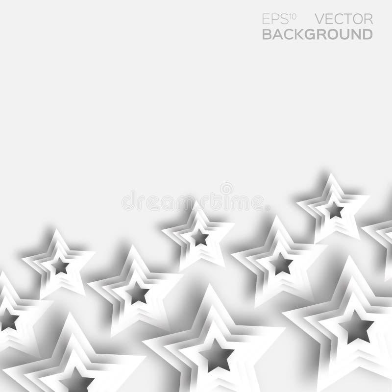 抽象origami白皮书担任主角背景 皇族释放例证
