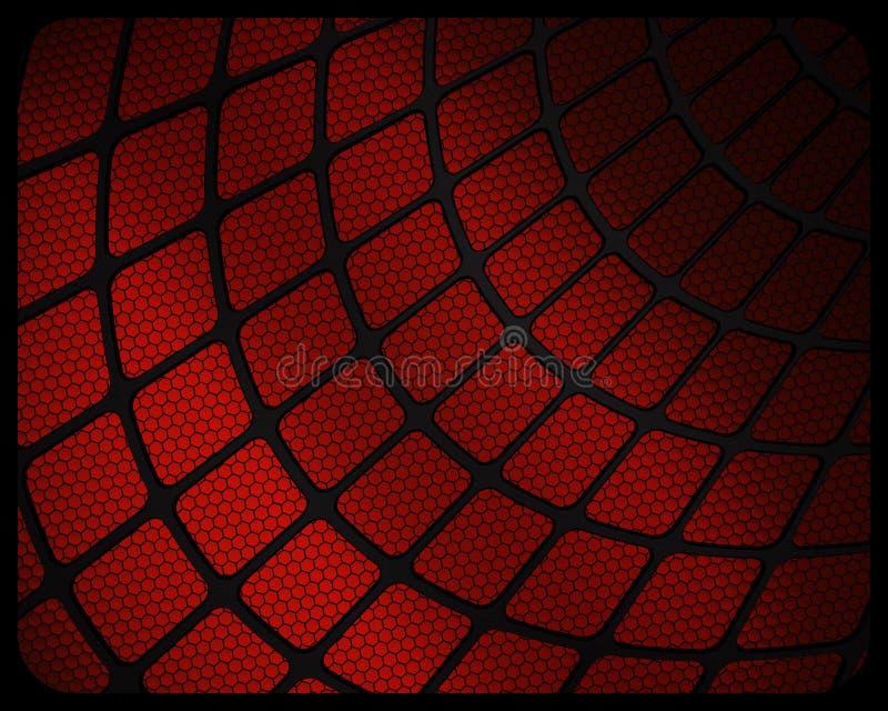 抽象Spiderweb纹理 向量例证