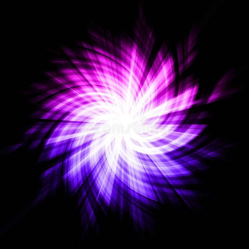 抽象starburst 库存例证