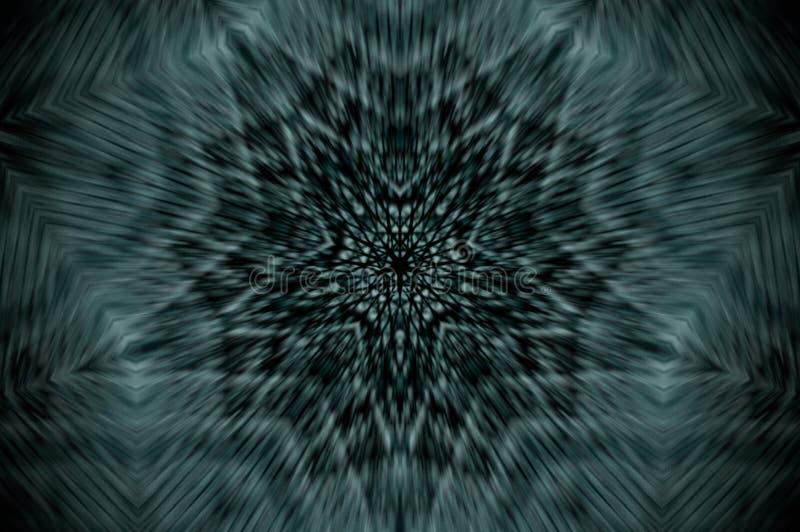 抽象X-射线坛场 向量例证