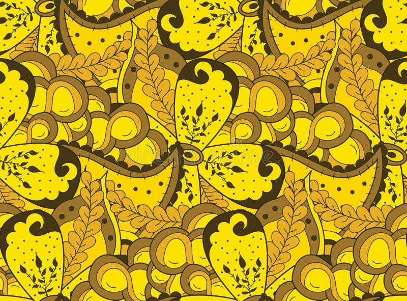 抽象zentangle背景 皇族释放例证