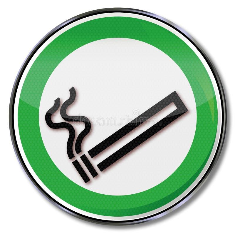抽香烟 皇族释放例证