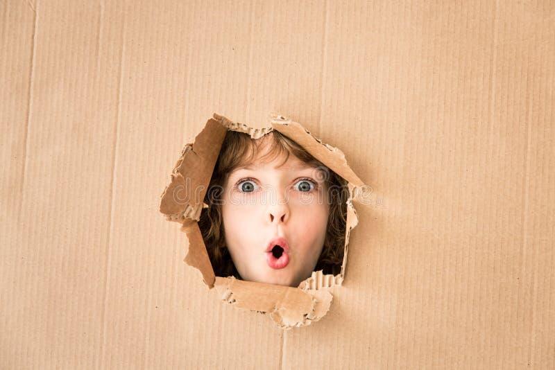 担心的孩子画象  图库摄影