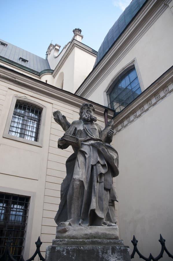 拉丁大教堂-宽容大教堂罗马天主教堂利沃夫州大主教管区主要寺庙  免版税图库摄影