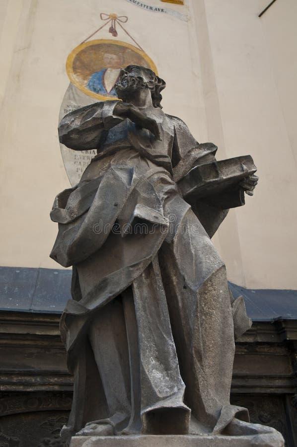 拉丁大教堂-宽容大教堂罗马天主教堂利沃夫州大主教管区主要寺庙  库存照片