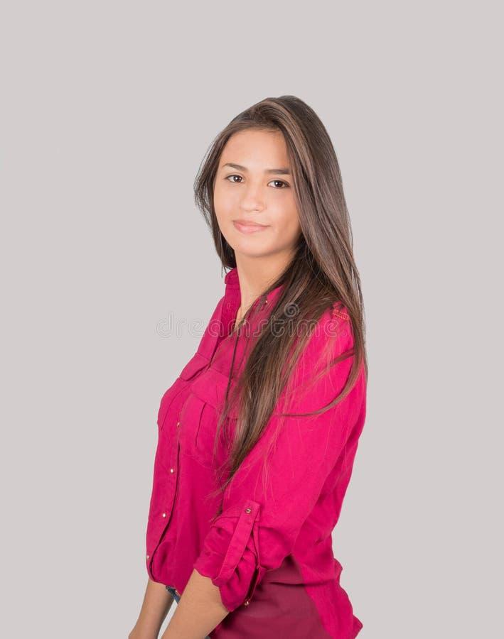 年轻拉丁女孩 库存图片