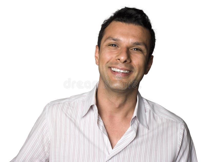 拉丁美州人微笑 免版税库存照片