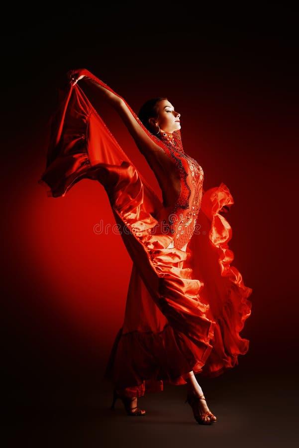 拉丁美州的舞蹈 库存照片