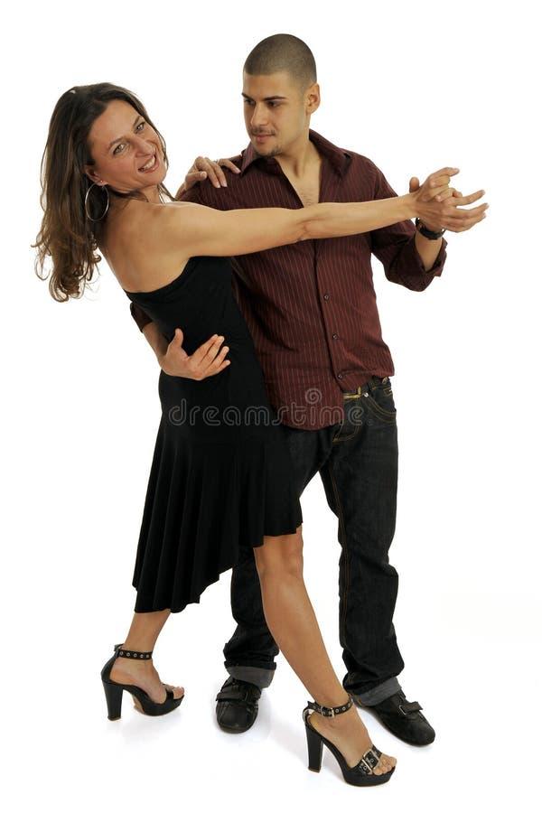 拉丁语的舞蹈演员 库存照片