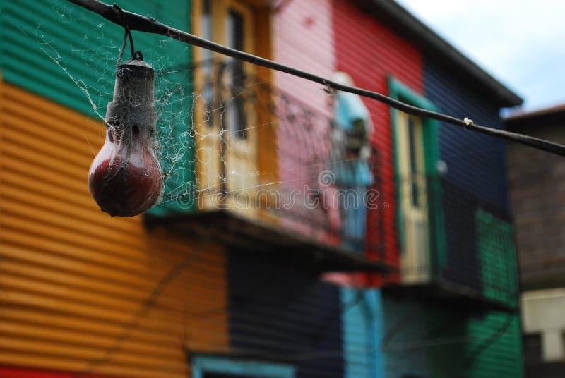 拉博卡市 免版税库存照片