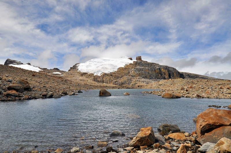 拉古纳Grande de la Sierra 库存照片