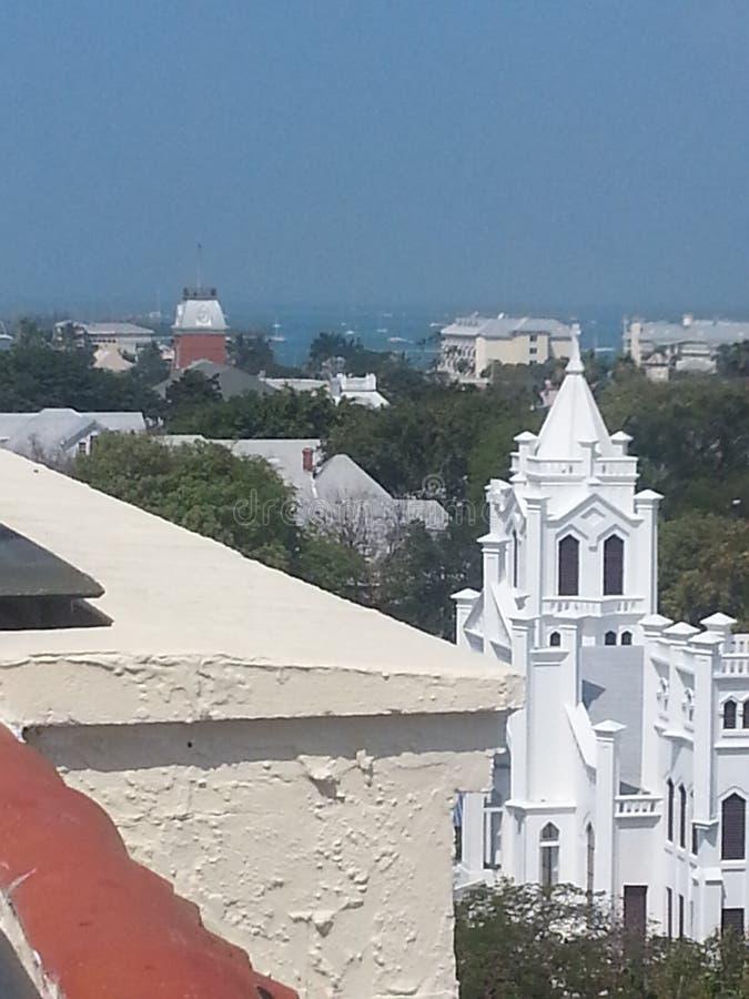 拉孔查旅馆的上面在基韦斯特岛 库存照片
