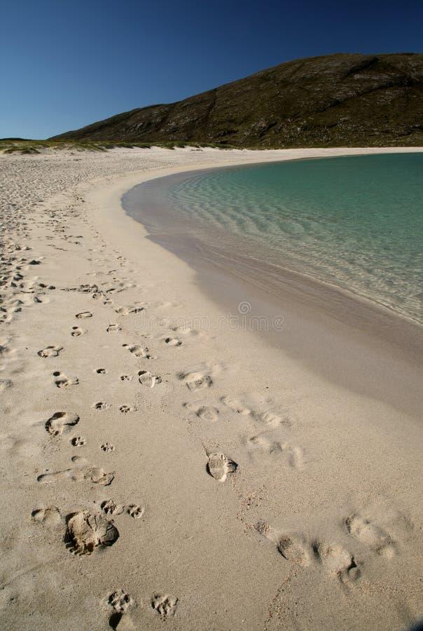 巴拉岛海滩小岛  图库摄影