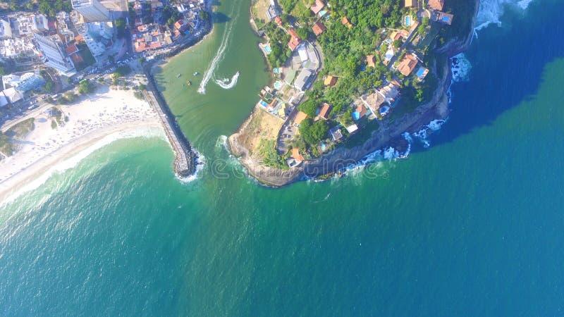 巴拉岛码头在里约热内卢 图库摄影