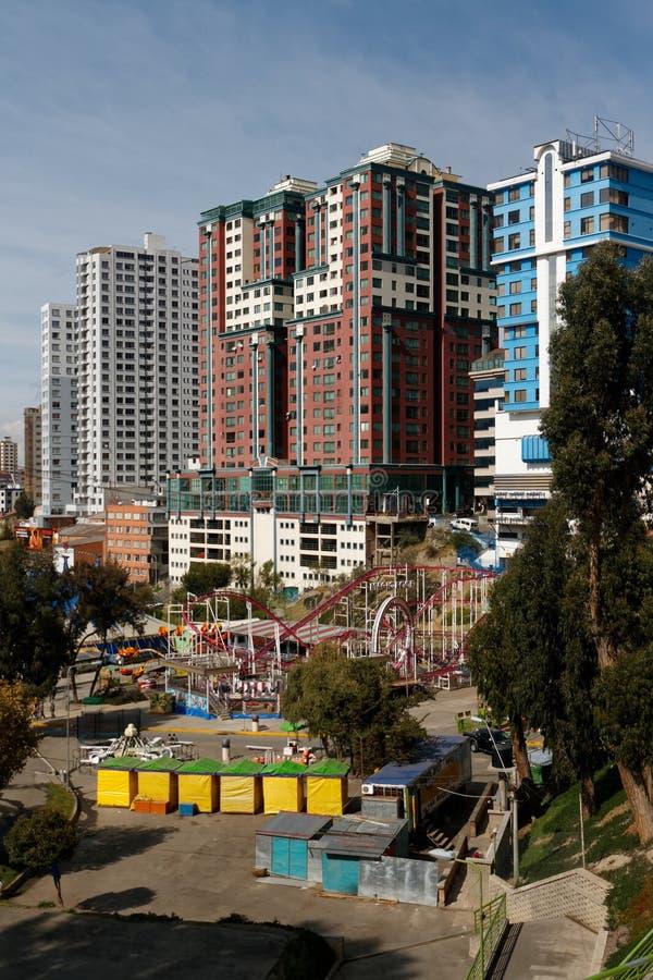 拉巴斯-玻利维亚的首都11 库存照片