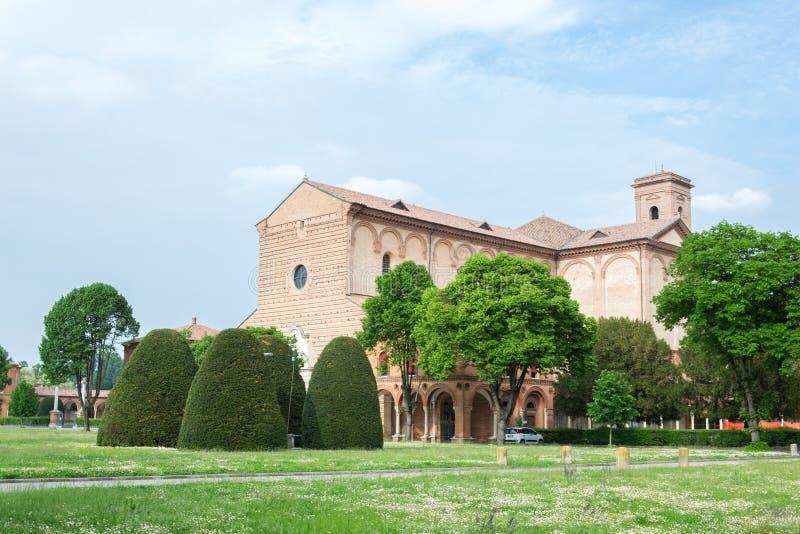 费拉拉Certosa  库存图片