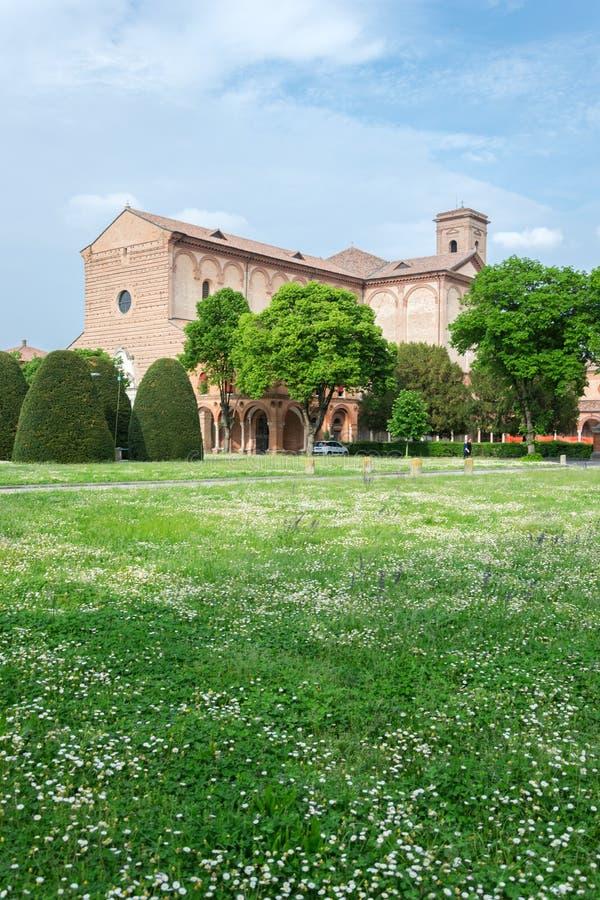 费拉拉Certosa  免版税图库摄影