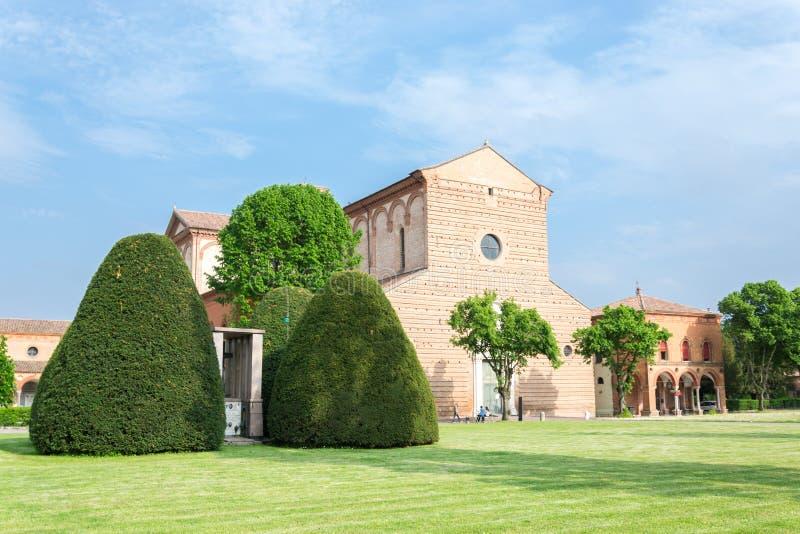 费拉拉Certosa  免版税库存照片