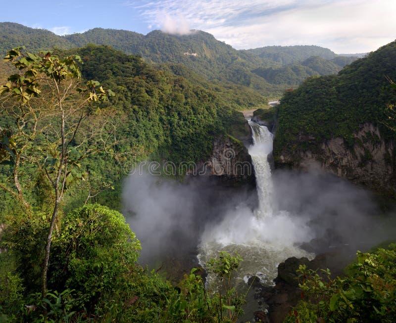 拉斐尔圣瀑布 库存照片