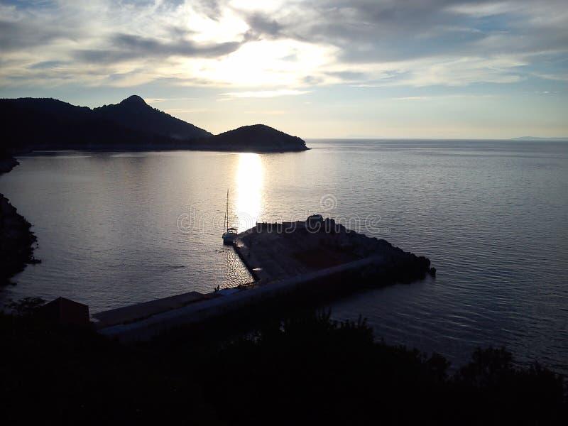 拉斯托沃岛 免版税图库摄影
