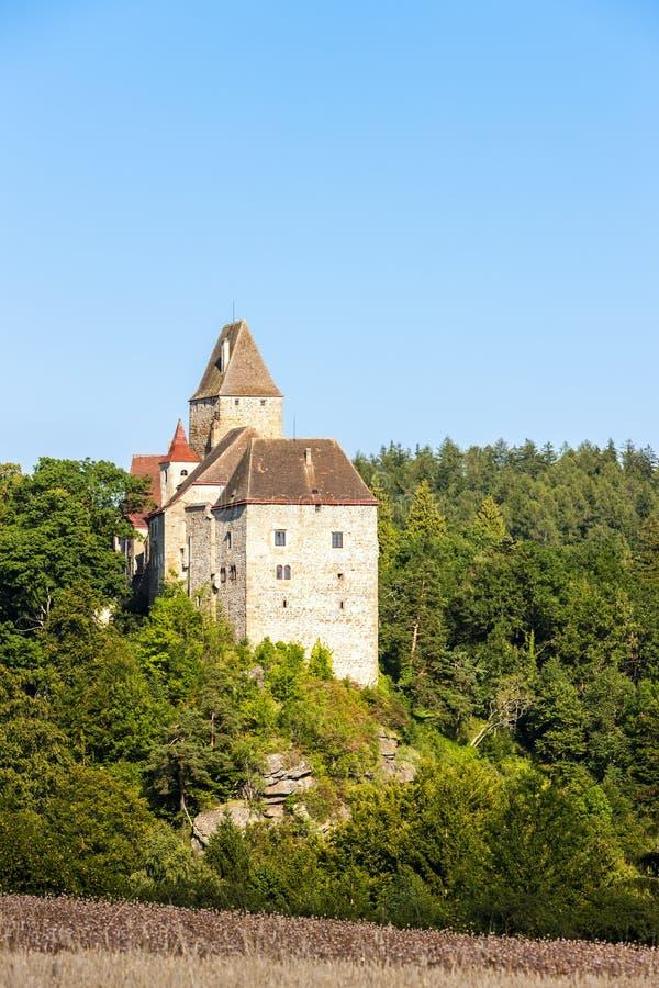 拉斯滕贝尔格城堡,下奥地利州,奥地利 库存照片