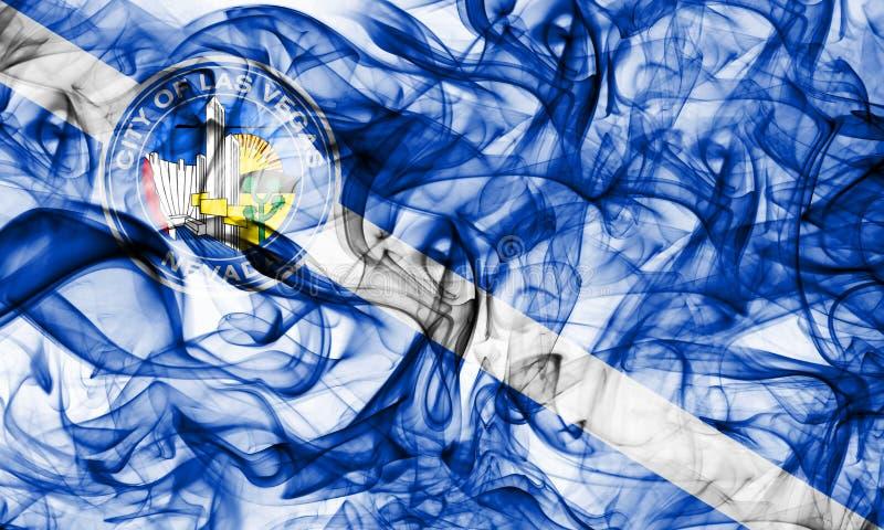 拉斯维加斯市烟旗子,内华达状态,美利坚合众国 免版税库存照片