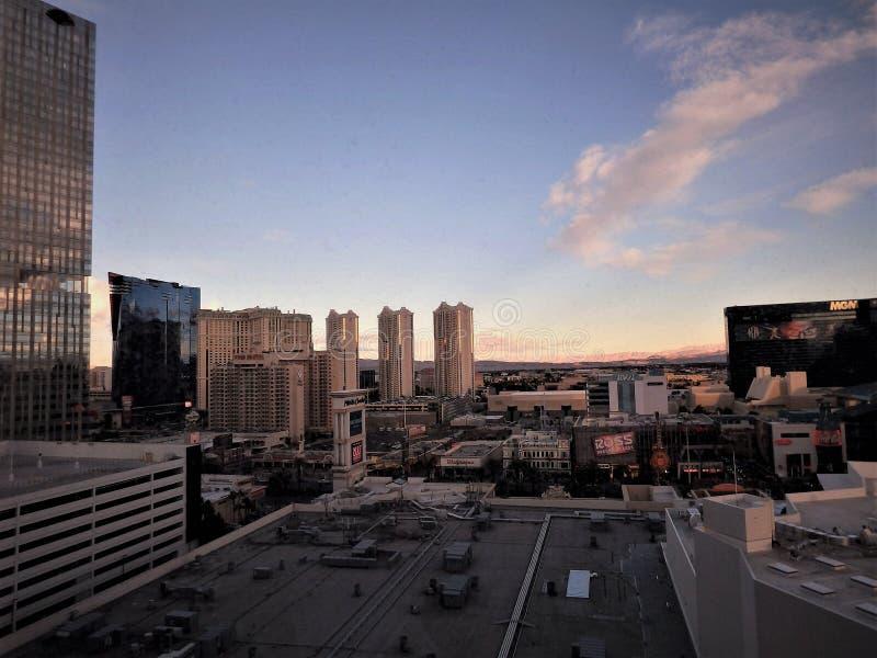 拉斯维加斯都市风景 免版税图库摄影