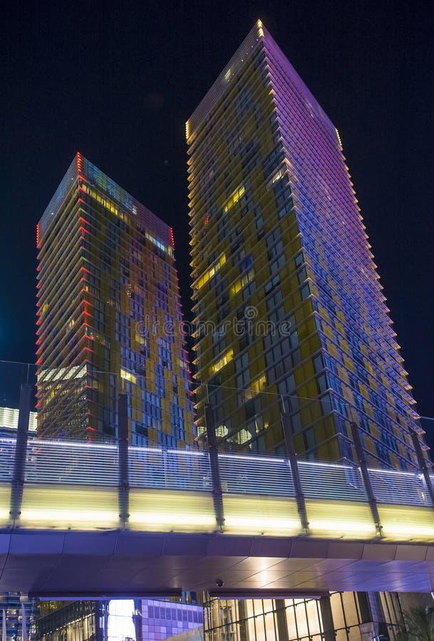 拉斯维加斯改变方向塔 免版税库存照片