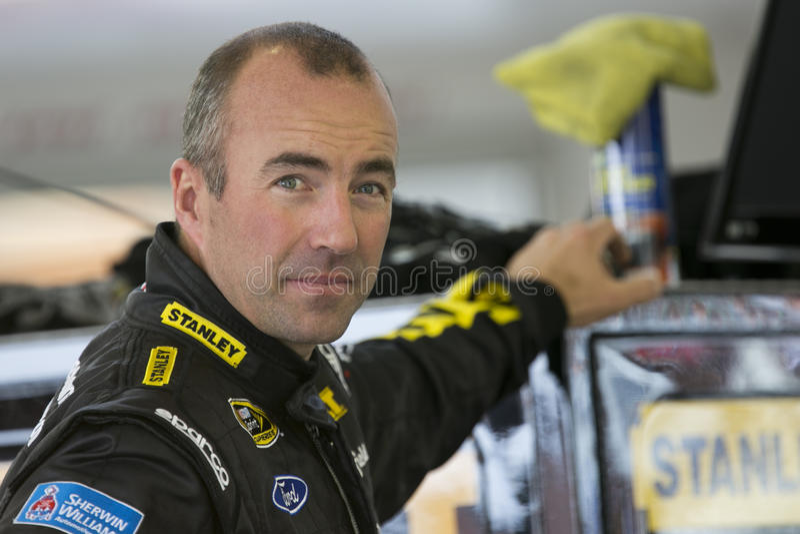 NASCAR : 马科斯Ambrose 库存照片