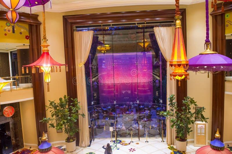 拉斯维加斯Wynn旅馆 库存图片