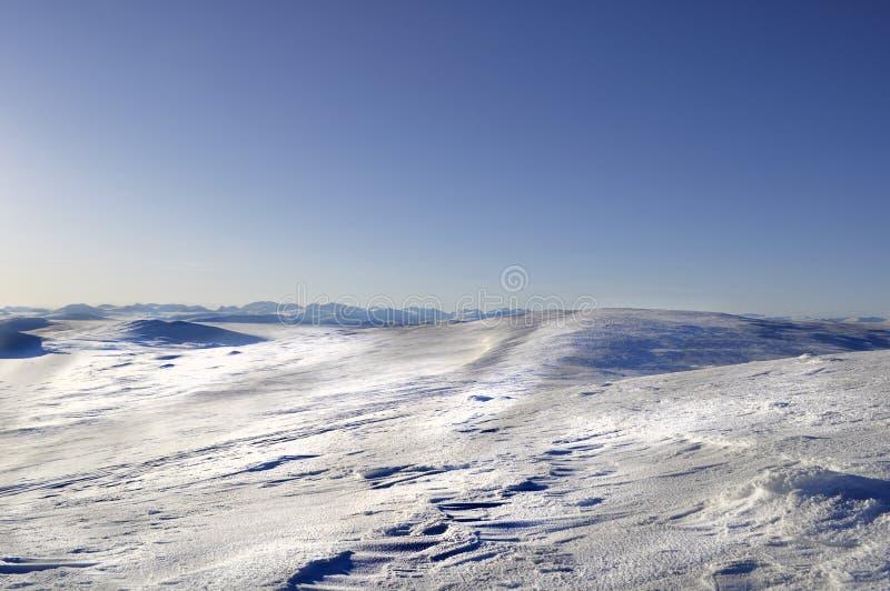 拉普兰北部瑞典 图库摄影