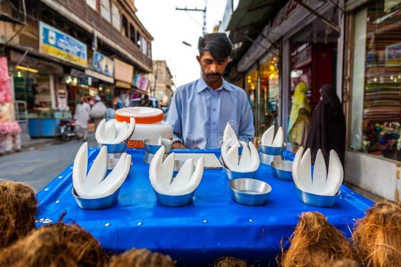 拉瓦尔品第义卖市场,巴基斯坦 免版税库存图片