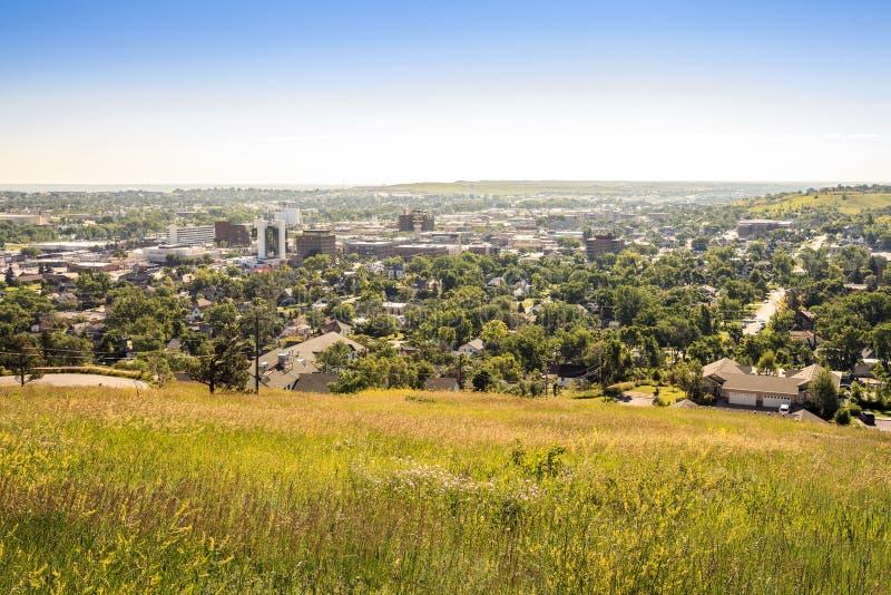 拉皮德城在南达科他,美国 免版税库存图片