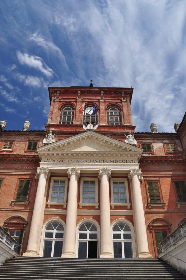 拉科尼吉城堡,开胃菜皇家住所,皮耶蒙特,意大利 库存图片