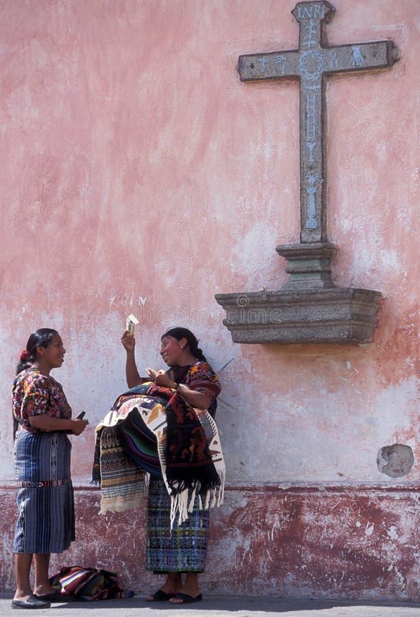 拉美危地马拉安提瓜岛 库存照片