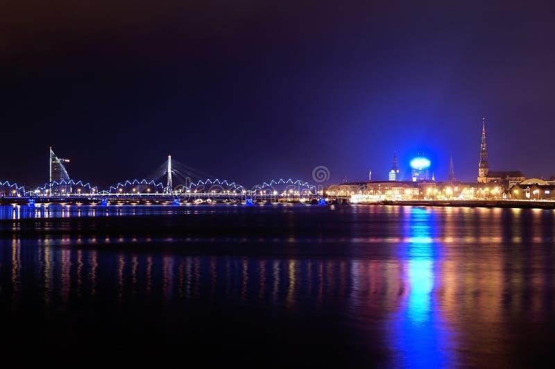拉脱维亚的首都 图库摄影