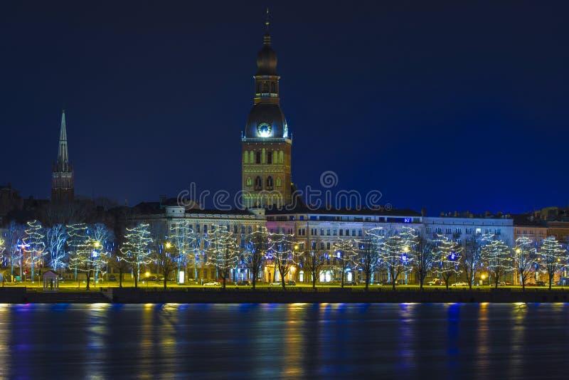 拉脱维亚里加 免版税库存照片