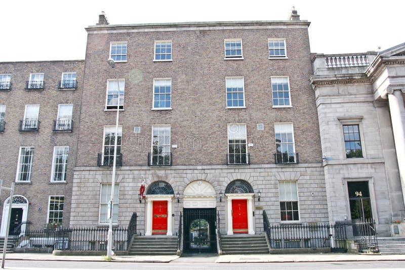 拉脱维亚,都伯林,爱尔兰的使馆 图库摄影