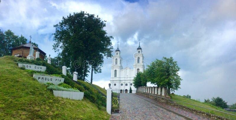 拉脱维亚 Latgale 卢扎 库存照片