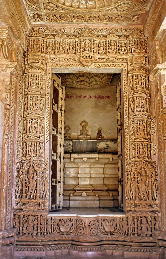 拉贾斯坦圣所寺庙 库存图片