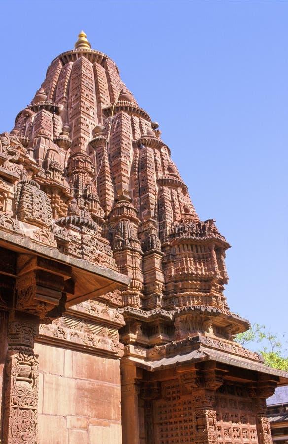 拉贾斯坦寺庙 免版税库存照片