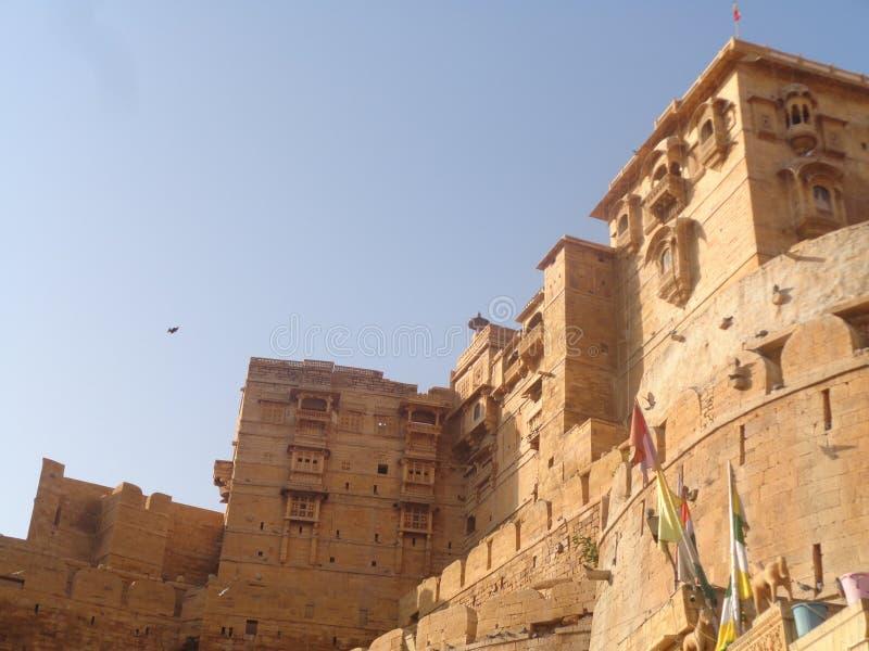 拉贾斯坦的堡垒 免版税库存照片