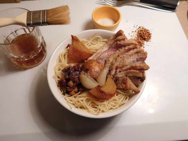 拉面食物谬传japon面条 库存照片